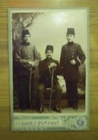 CABINET PORTRAIT OSMANLI SİYAH BEYAZ FOTOĞRAF