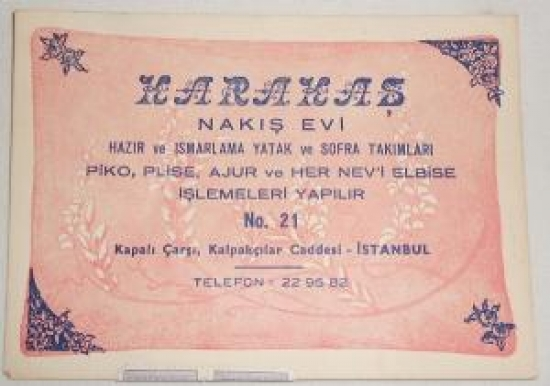 KARAKAS NAKIŞ EVİ NO.21