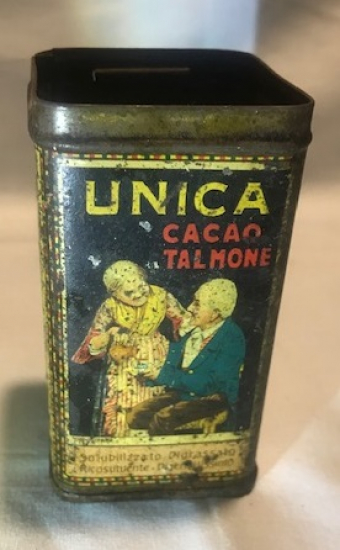 UNICA CACAO TALMONE TENEKE KAHVE KUTUSU