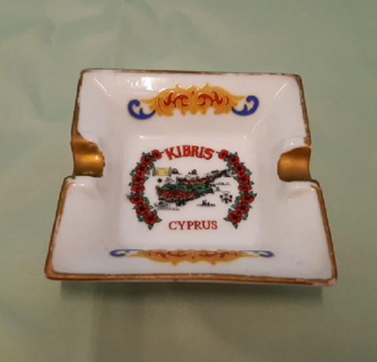 SERAMİK KIBRIS RESİMLİ CYPRUS KULLUK