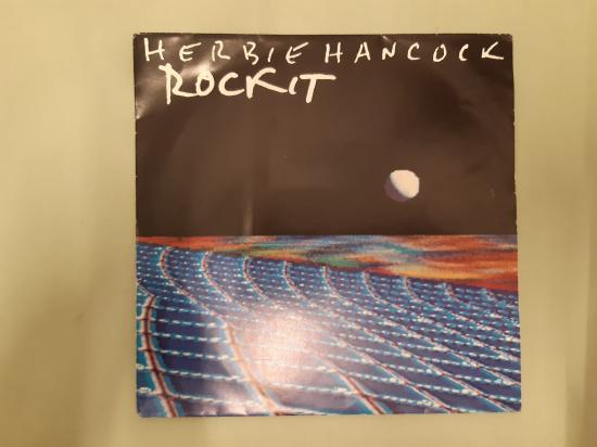 CBS PLAK HERBIE HANCOCK ROCKIT SHORT VERSİON , LONG ALBUM VERSİON 45 LİK YABANCI PLAK