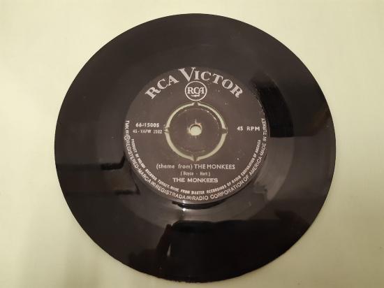RCA VICTOR PLAK  THE MONKEES MARY , MARY  THE MONKEES 45 LİK YABANCI PLAK