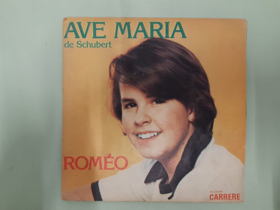 ROMEO FREDERIC PRODUCTIONS . AVE MARIA DE SCHUBERT  45 LİK YABANCI PLAK