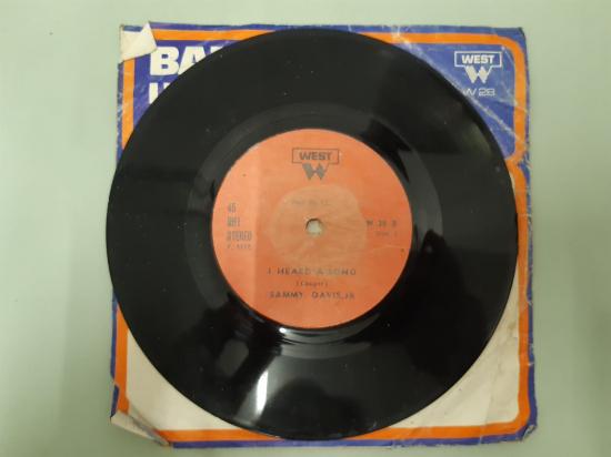 WEST PLAK BERATTA SAMMY DAVIS, JR HEARD A SONG , 45 LİK YABANCI PLAK