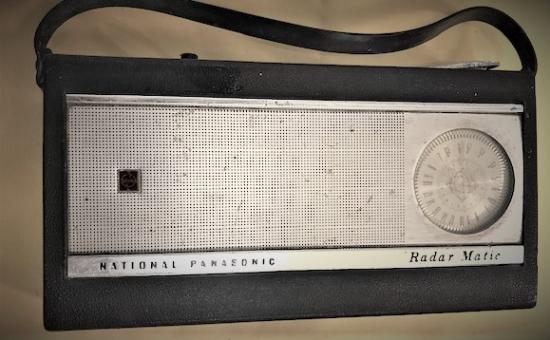 NATIONAL PANASONIC MODEL R 1000 RADIO RADAR MATIC 1965 JAPAN