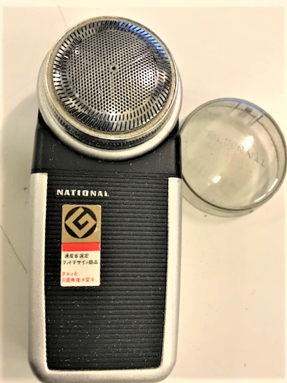 NATİONAL SHAVER ES 565 PİLLİ TRAŞ MAKİNESİ JAPAN 1960