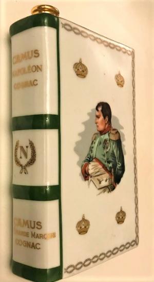 BERNARDAUD LİMOGES FRANCE NAPOLEON PORSELEN İÇKİ ŞİŞESİ 1769 - 1969  PORCELANA