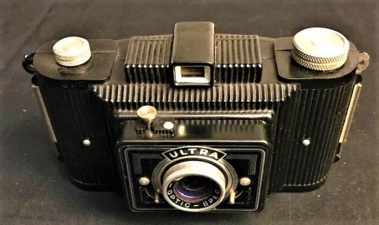 ULTRA FEX FEXAR OPTIC SPEG FRANCE CAMERA FOTOGRAF MAKİNE 1946 MODEL