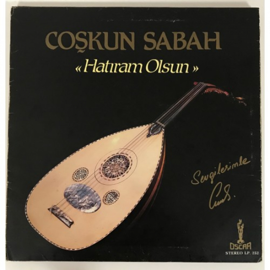 COŞKUN SABAH HATIRAM OLSUN 33 LP PLAK