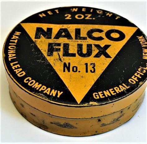 NALCO FLUX AMERİKAN LEHİM PASTASI TENEKE KUTU