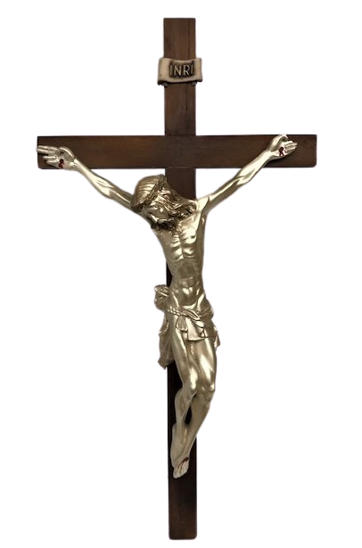 HZ İSA CARMAGA GERİLMİŞ ELLERİ VE AYAKLARINDAN CİVİLENMİŞ HALİ  BÜYÜK BOYDA