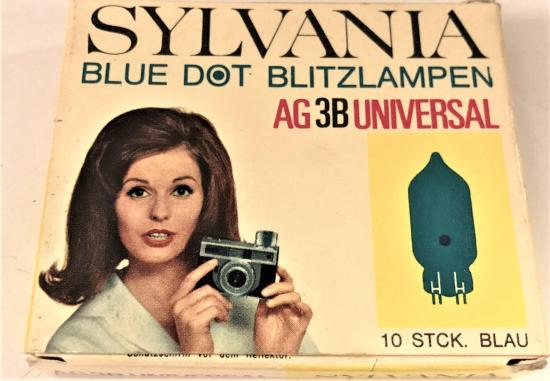AG 3B UNUVERSAL SYLVANA BLUE DOT  BLITZLAMPEN FOTOGRAF MAKİNE FLAŞ LAMBASI