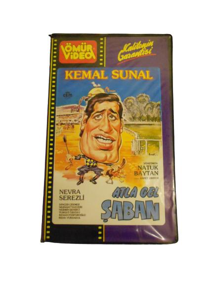 ATLA GEL ŞABAN KEMAL SUNAL SİNEMA FİLMİ VHS KASET