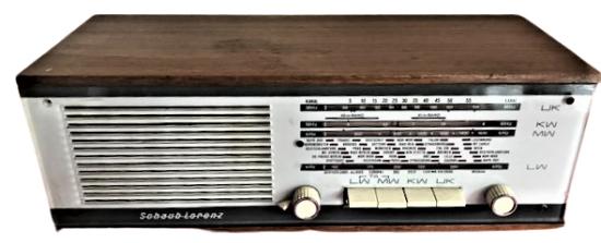 1966 ALMAN SCHAUPLORENZ VIOLA 4 DALGA  TUŞLU AHŞAP KASA SORUNSUZ RADIO