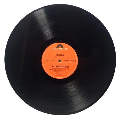 ROY BLACK EINE LIEBESGESCHICHTE 1971 ALMAN LP UZUN CALAR 33 DEVİR PLAK ORJİNAL BASKI