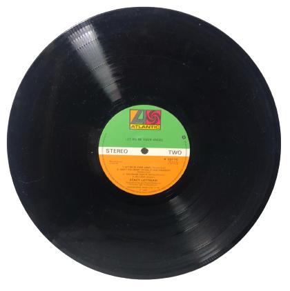 STACY LATTISAW  1980  LET BE  YOUR ANCEL LP UZUN CALAR 33 DEVİR PLAK