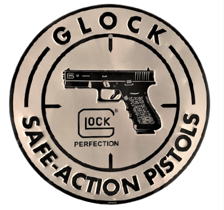 GLOCK SAFE ACTION PISTOLS LOCK PERFECTION DAİRESEL  TABELA