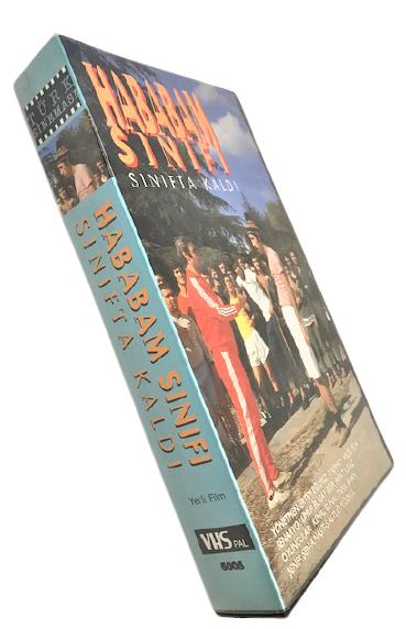 VHS SİNEMA KASEDİ HABABAM SINIFI SINIFTA KALDI KEMAL SUNAL TARIK AKAN