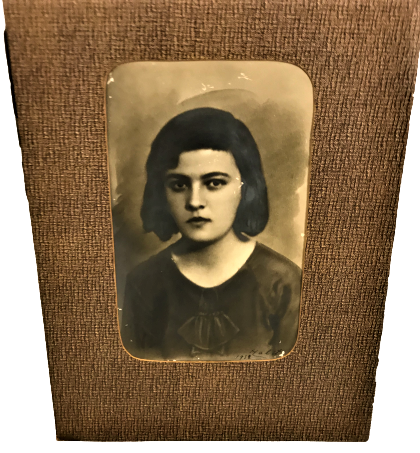 1938 HALİT İMZALI KARAKALEM RESİM KARTON CERCEVESİNDE