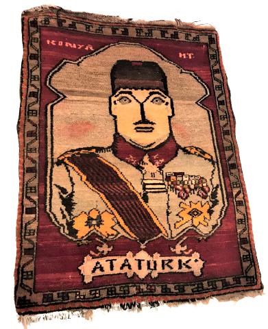 KONYA H.T. ATATÜRK PORTRESİ EL DOKUMA