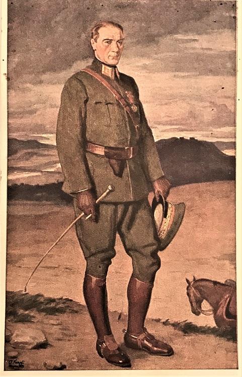 16 SUBAT 1925 TC TAYYARE CEMİYETİNİN CIKARDIGI ATATÜRK KARTPOSTAL