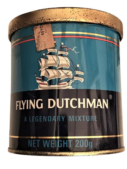 FLYING DUTCHMAN A LEGENDARY MIXTURE PIPE TOBACCO BOŞ PİPO TÜTÜNÜ KUTUSU