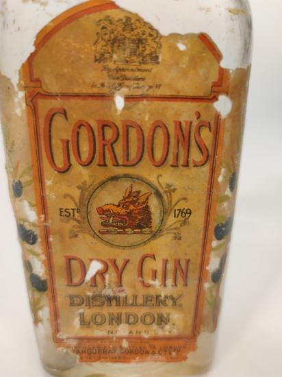 GORDON'S DRY GIN İÇKİ ŞİŞESİ BOŞ