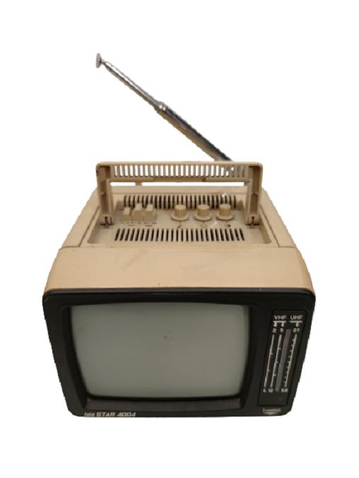 1988 TELE STAR 4004  TV ANTENLİ TAŞINABİLİR RENKLİ TELEVİZYON COLOR TV